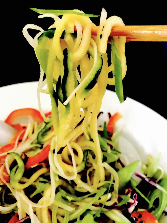 Cold Zucchini Noodles