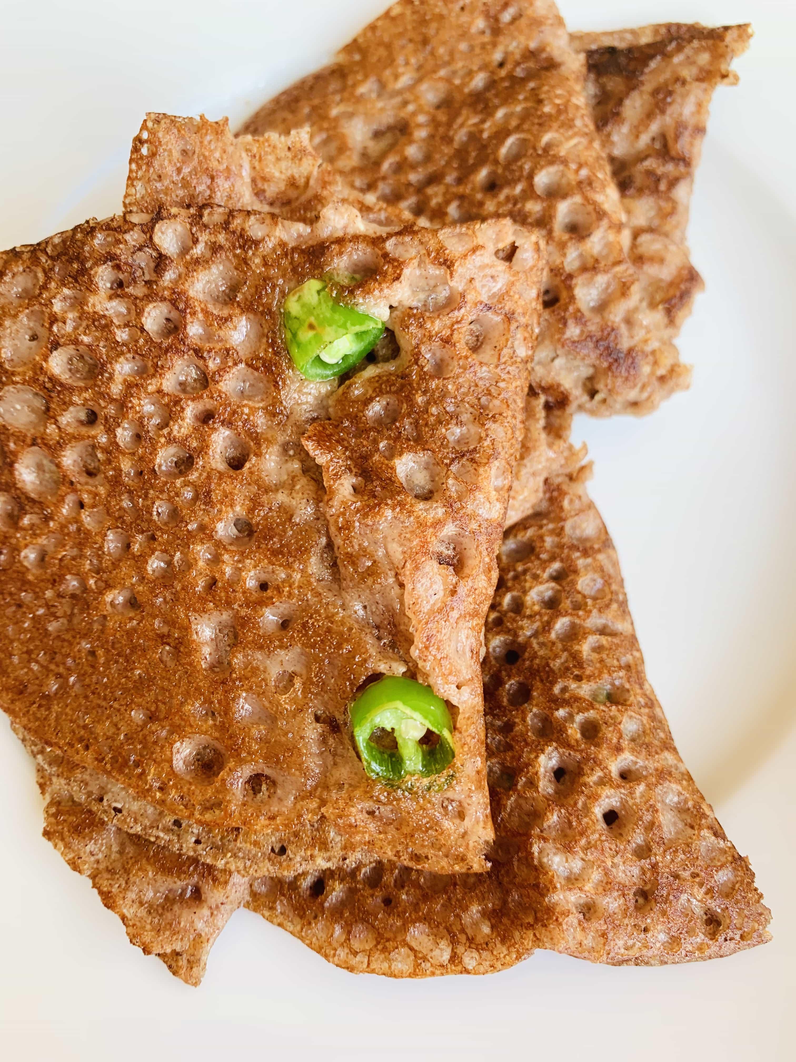 Ujwala's Oats Quinoa & Millet Dhirde